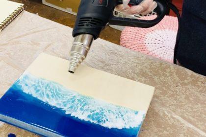 エポキシアート波